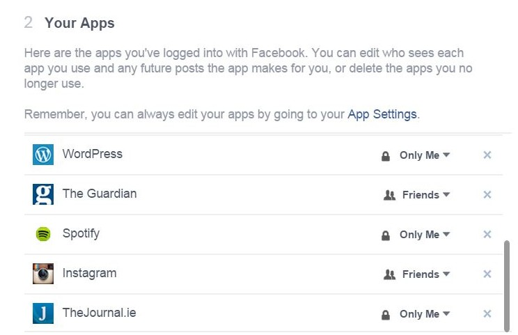 Apps on Facebook