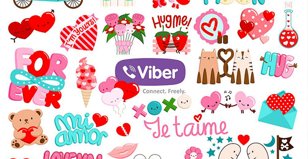 Viber stickers are a very popular feature with younger users