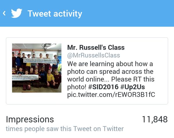 mR rUSSSELS CLASS