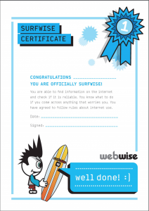 Webwise Primary Certificates